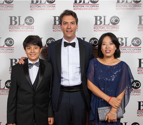 Jan and Family at BLO's Carmen